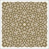 Modèle d'arabesque Images libres de droits