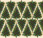 Modèle d'arbre de Noël illustration de vecteur