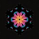 Modèle d'arc-en-ciel de fractale illustration libre de droits