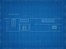 Modèle d'architecte de Chambre illustration de vecteur