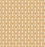 Modèle d'art déco de vecteur Fond abstrait sans joint Texture géométrique de style de cru illustration stock