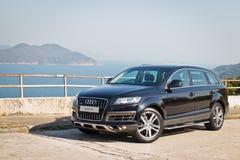 Modèle d'Audi Q7 3.0T Quattro 2014 image stock