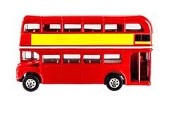 Modèle d'autobus de Londres Images stock