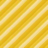 Modèle d'or de crochet Images libres de droits