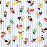 Modèle d'enfants Image stock