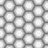 Modèle d'hexagone illustration stock