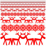 Modèle d'hiver de Noël Photos stock