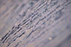 Modèle d'hiver Flocons de neige blancs Couleur grise Boke Photos stock