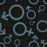Modèle d'icône de genre Photographie stock libre de droits