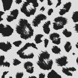 Modèle d'impression de léopard Répétition du fond illustration libre de droits