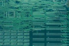 Modèle d'impression de l'électronique Images libres de droits