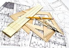 Modèle d'ingénierie Photos stock