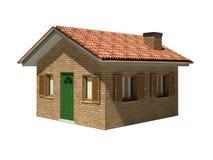 modèle d'isolement par maison Photo libre de droits