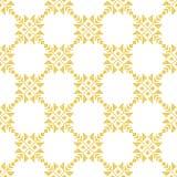 Modèle d'or norvégien d'hiver géométrique Photos stock