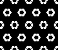 Modèle d'octogone, hexagones ondulés illustration libre de droits