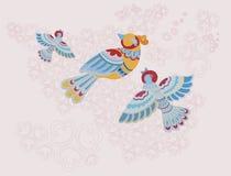 Modèle d'oiseau Image stock