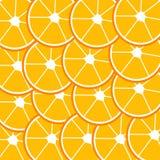 Modèle d'oranges Photo libre de droits