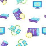Modèle d'ordinateur, style de bande dessinée Images stock