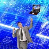 Modèle d'ordinateurs d'ingénierie Photographie stock libre de droits