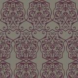 Modèle d'ornement de motif d'empire de vintage de vecteur illustration stock