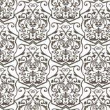 Modèle d'ornement de motif d'empire de vintage de vecteur illustration de vecteur