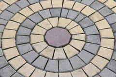 Modèle d'ovale de pavé rond Photo libre de droits
