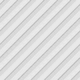 Modèle 3d sans couture blanc géométrique abstrait illustration stock