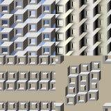 Modèle 3d sans couture géométrique Images libres de droits