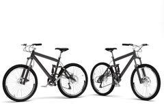 Modèle d'une bicyclette de sports Photos stock