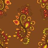Modèle dans des couleurs d'automne Photos libres de droits
