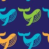 Modèle de baleine Photo libre de droits