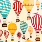 Modèle de ballon à air Image libre de droits