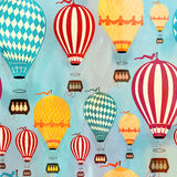 Modèle de ballon à air Photo stock