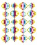Modèle de ballon de Colorfull Image stock