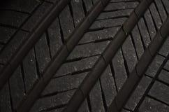 Modèle de bande de roulement de pneu Images libres de droits