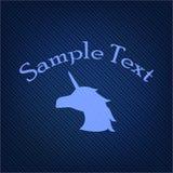 Modèle de bannière Tissu tricoté illustration stock