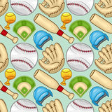 Modèle de base-ball - sport - # 2 Illustration Stock