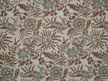 Modèle de batik Photographie stock