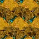 Modèle de batik Photographie stock libre de droits
