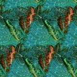 Modèle de batik Images libres de droits