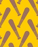 Modèle de batte de baseball sans couture Folâtre l'illustra de vecteur de fond Illustration de Vecteur