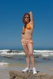 Modèle de bikini Images libres de droits