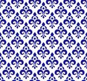 Modèle de bleu royal illustration de vecteur