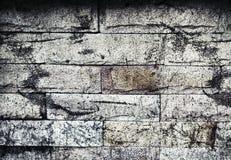 Modèle de bloc de béton de mousse Images libres de droits