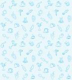 Modèle de boissons Image libre de droits