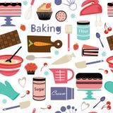 Modèle de boulangerie Images stock