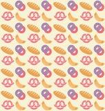 Modèle de boulangerie Photographie stock libre de droits
