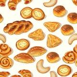 Modèle de boulangerie Image libre de droits