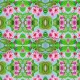 Modèle de bouquet floral d'aquarelle de branche de fleur de Sacura illustration de vecteur