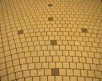 Modèle de brique sur le chemin photographie stock libre de droits